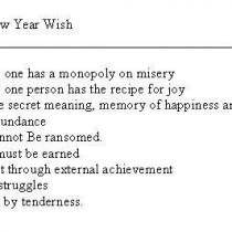 """New Year Wishes"""
